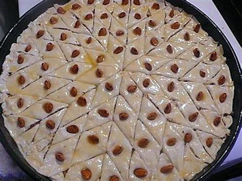 recettes de cuisine rapide et facile recette de baklawas simple et rapide