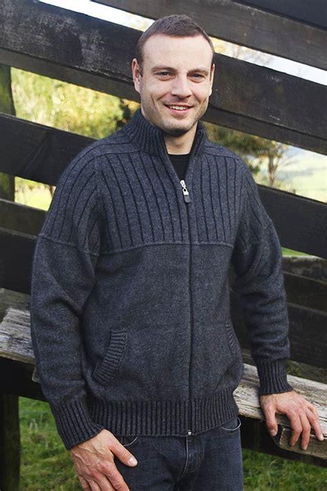mens possum merino jacket  full zipmade  nz