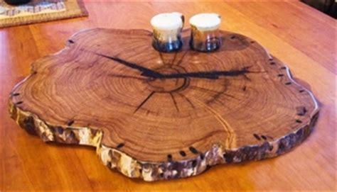 "MVW: 24"" Rustic Solid Wood Lazy Susan   mesquite, cedar"