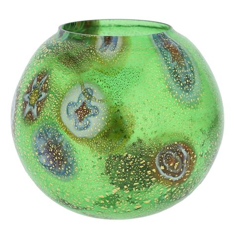 green glass candle holders murano glass candle holders murano glass millefiori 3984