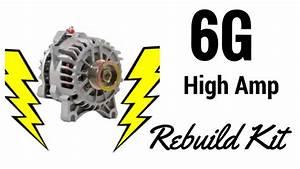 6g High Amp Rebuild Kit For A Ford Alternator