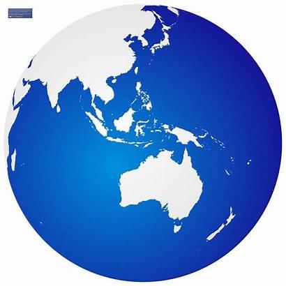 Globe Vector Australia Simple Clipartmag