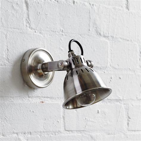 industrial vintage adjustable wall light spotlight