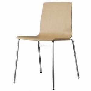 Chaise Bois Design : chaise bois design alice et chaise design bois par scab ~ Teatrodelosmanantiales.com Idées de Décoration
