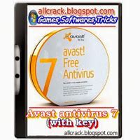 Avast 7 with Serial Key (till 2038) AllCrack (Softwares