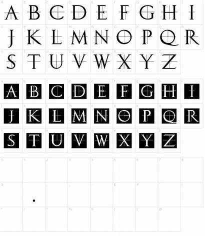 Font Roman Classic Caps Fonts