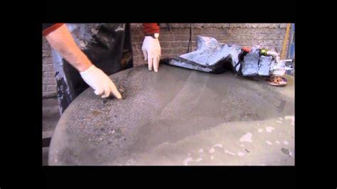 Polishing Countertops by Polishing Concrete Countertops