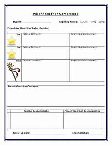 best 25 parent teacher conference forms ideas on With parent teacher meeting report template