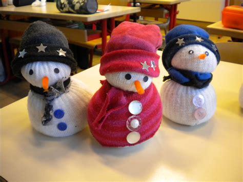 bricolage de no 235 l le bonhomme de neige quot chaussettes quot un monde meilleur un monde meilleur