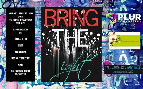 Bring The Light - Los Angeles Tickets 01/14/17