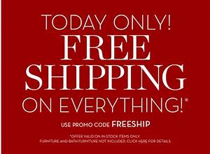 Pottery Barn And Pottery Barn Kids FREE Shipping TODAY