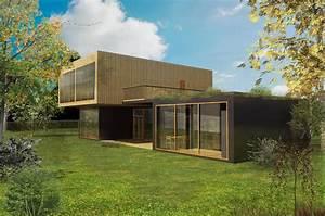 Construire Sa Maison Prix : prix et tarif d une maison container archionline ~ Carolinahurricanesstore.com Idées de Décoration