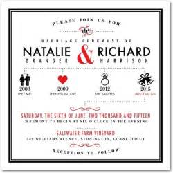 wedding invitation timeline this modern and chic wedding invitation template blends typography and graphic design to create