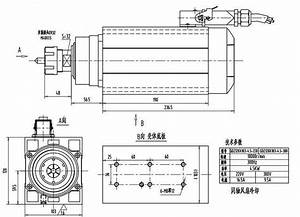 1 5kw 380v High Speed 18000rpm