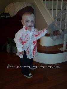 Coolest Zombie Toddler Homemade Halloween Costume Idea ...