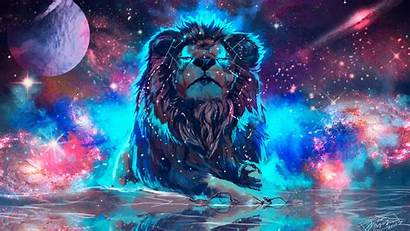 4k Wallpapers 720p Colorful Lion Backgrounds Wallpaperaccess
