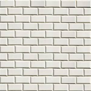 Carreau Metro Blanc : mur de carrelage blanc museumtextures ~ Preciouscoupons.com Idées de Décoration