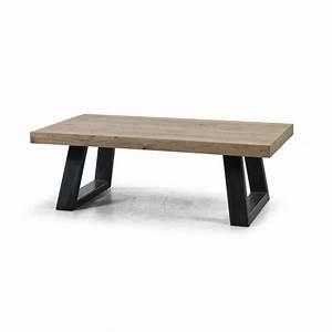 Pied De Table Basse Metal : pieds de table basse design ~ Teatrodelosmanantiales.com Idées de Décoration