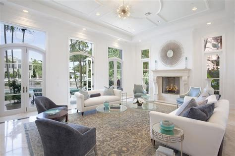deco living room with cement fireplace crown molding in boca raton fl zillow digs