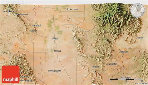 Satellite 3d Map Of Bisbee