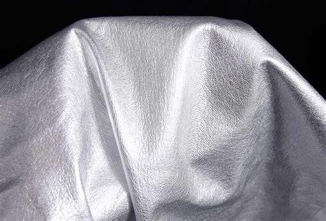 Ziegenleder Soft Glatt Silber-metallic Glänzend 0,6-0,8 Mm