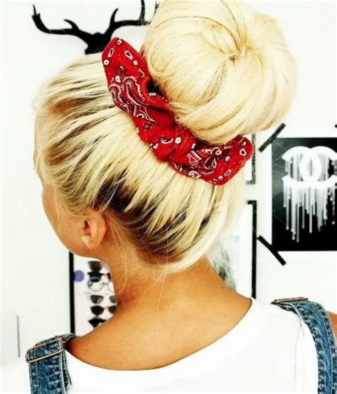 how to style hair with a bandana how to wear a bandana the ultimate bandana style guide 7071