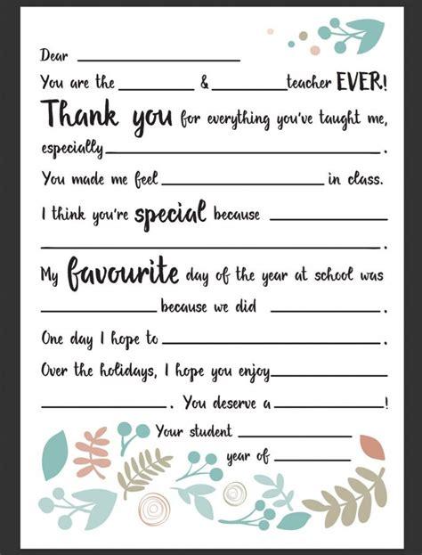 teacher appreciation letter ideas  pinterest
