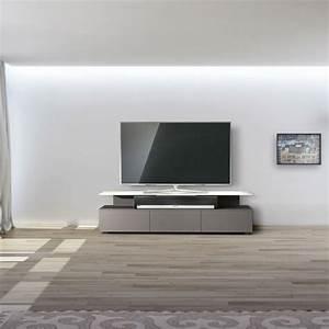 Just Racks JRM1650 PE TV Mbel Farbe Pebble 01 1107