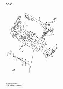 Throttle Body Hose  Joint For 2006 Suzuki Gsx1400