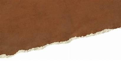 Paper Kraft Brown Transparent Papel Broken Torn