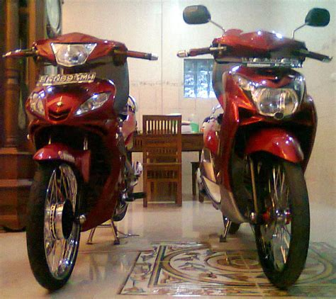 Modif Jupiter Mx Warna Merah by Jupiter Mx Modifikasi Warna Merah Thecitycyclist