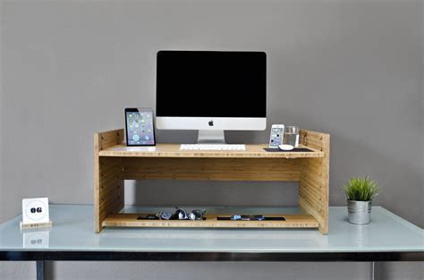 automatic stand up desk ergonomic standing desk with unfinished wooden laptop