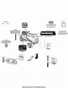 Mtd 13a2775s000  2015  Parts Diagram For Label Map 13a2775s000