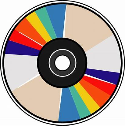 Disc Disk Compact Clipart Clip Frisbee Cd