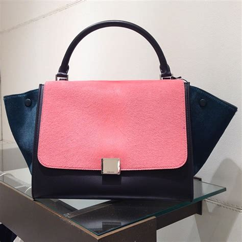 celine trapeze bags  fall  spotted fashion