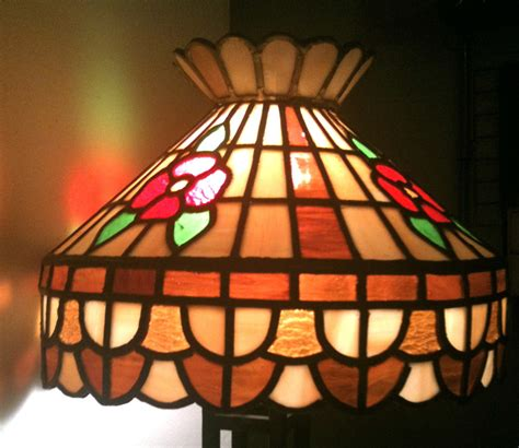 stained glass chandelier antique or last month