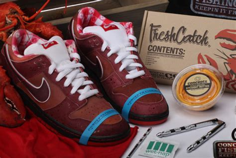 concepts  nike sb lobster dunk  hypebeast