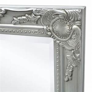 Miroir Baroque Argenté : acheter vidaxl miroir mural style baroque 100 x 50 cm argent pas cher ~ Teatrodelosmanantiales.com Idées de Décoration
