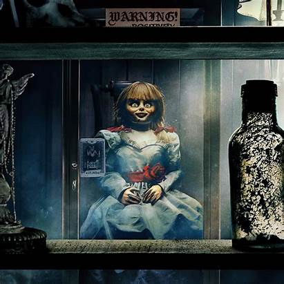 Annabelle Comes Doll Warning 8k Wallpapers 4k