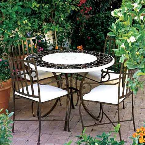 salon de jardin en fer forge en promotion pas cher decoration jardin maroc