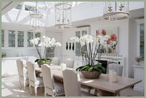 Modern Country Style Dining By Candle Light