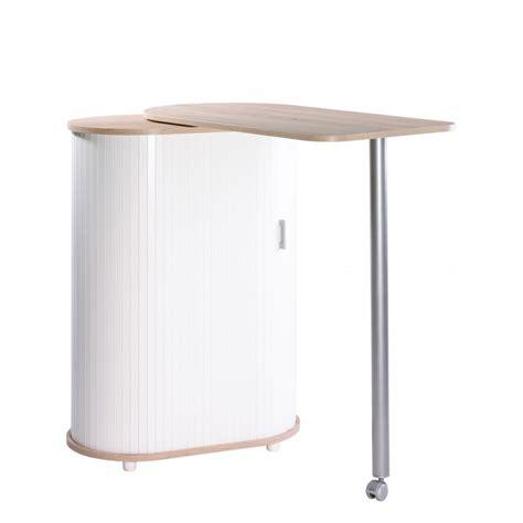table cuisine pivotante table pivotante et meuble de rangement de cuisine chêne