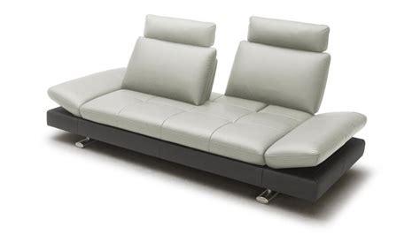 canapé bas design canapé cuir minho 2 places mobilier moss