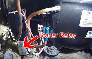 Whirlpool Refrigerator Repair  Start Relay