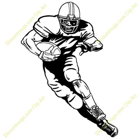 American Football Player Clip Art