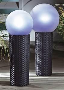 Gartenbeleuchtung Solar Kugel : solarleuchte gro gartenbeleuchtung gartenlicht solarlicht kugel polyrattan ebay ~ Sanjose-hotels-ca.com Haus und Dekorationen