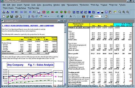 software exl plan planning tool  excel template