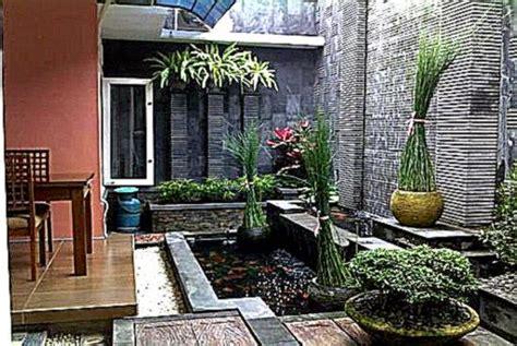 desain taman belakang rumah gallery taman minimalis