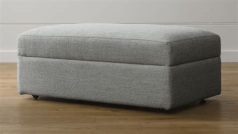 sectional sofa reviews lounge ii caster storage ottoman crate and barrel