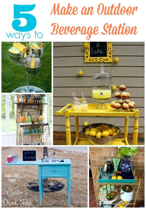 ways  create  outdoor beverage station infarrantly